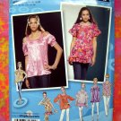 Simplicity Pattern # 2961 Project Runway Top Blouse 12 14 16 18 20