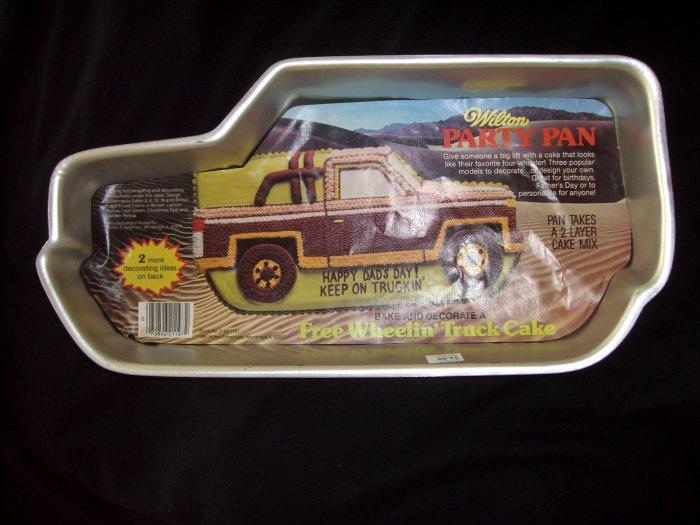 Truck Cake Pan Wilton