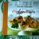 Made Simple Appetizers Cookbook ~ Favorite Brand Names HC