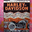 Timechart History of Harley-Davidson Motorcycles Book 11 Foot Pull-Out