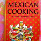 Vintage 1967 Complete Book of Mexican Cooking ~ Cookbook by Lambert Ortiz HCDJ