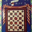 Stars Across America By Eleanor Burns Quilt in a Day Series Pattern Book Instructions