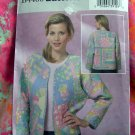 Butterick Pattern # 4400 Misses Quilted Jacket UNCUT Size XSM Small Medium