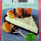 Weight Watchers 123 Success Recipe Collection Cookbook Breakfasts Lunches Dinners Snacks Desserts