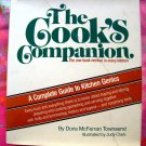 Cooks Companion 1st Edition 1978 HCDJ Cookbook &  Kitchen Guide
