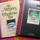 Lot ~ A Cup of Christmas Tea & A Memory of Christmas Tea by Tom Hegg AUTOGRAPHED