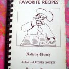 Vintage Bloomington Minnesota MN Church Cookbook Ads