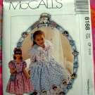 "McCall's Pattern # 8168 UNCUT Size 4 5 6 Dress Hairbow Purse ""Dorothy Dear"""