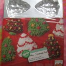 NEW Sealed Wilton Cake Pan Mini Christmas Trees