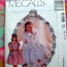 "McCall's Pattern # 8168 UNCUT Size 6 7 8  Dress Hairbow Purse ""Dorothy Dear"""