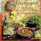 Alla Trattoria: 180 Recipes from Italian Chefs by Lori Carangelo OOP Cookbook Recipes from Italy