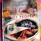 Weight Watchers Quick Cooking for Busy People Cookbook HC