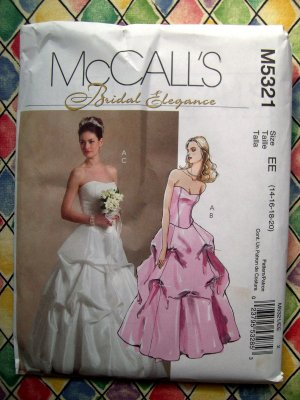 McCalls Pattern 5321 Wedding