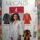 McCall&#39;s Pattern # 5556 UNCUT Misses Womans TUNIC TOP ~ Size 18W 20W 22W 24W
