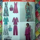 Simplicity Pattern #4220 UNCUT ~ Misses Skirt Cropped Pants Pullover Dress Size 16 18 20 22 24
