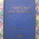 Rare 1927 Cookbook Piggly Wiggly Daily Health Menus Balanced Diet by Chef Wyman ~ Scarce!