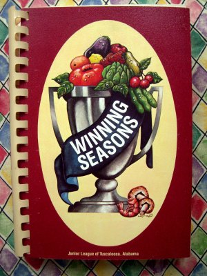 Tuscaloosa Alabama AL Vintage WINNING SEASONS Junior League Cookbook
