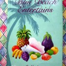 Palm Beach Entertains HCDJ Vintage Junior League Cookbook Florida