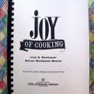 The Joy of Cooking Cookbook Huge Comb-Bound Edition by Irma S. Rombauer