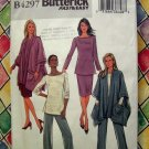 Butterick Pattern #4297 UNCUT Poncho Jacket Top Skirt Pants Large XL