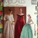 McCall's Evening Elegance Pattern #3681 UNCUT Gown Prom Dress Size 16 18 20 22