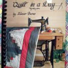Quilt in a Day LOG CABIN Pattern Book by Eleanor Burns