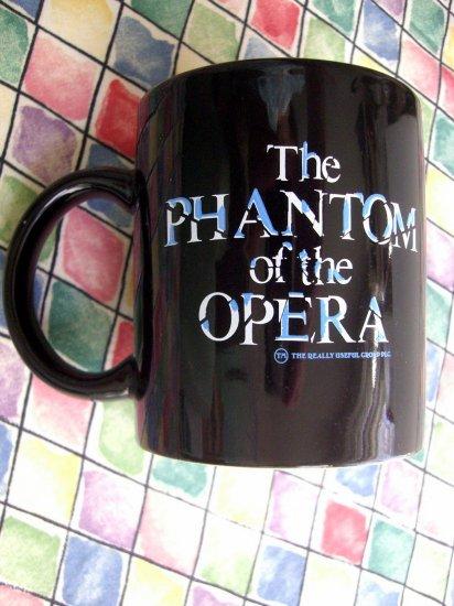 SOLD! Vintage 1986 Phantom Of The OPERA Coffee Mug  Mask