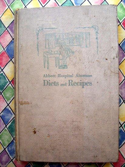 Rare Antique 1925  Minneapolis MN Cookbook Abbott Hospital