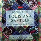 Louisiana Sampler: Recipes from Our Fairs & Festivals by John D. Folse Rare Southern Cookbook!