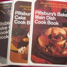 Lot Vintage Pillsbury Bake Off Cookbooks Cakes Cookies Main Dishes
