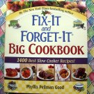 HUGE  Fix-It And Forget-It Big Cookbook: 1400 Best Slow Cooker Recipes