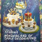 Vintage 1974 Wilton Wonderland of Cake Decorating Instruction Book