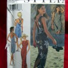 Style Pattern # 2637 UNCUT Misses Sun Dress Cross Back & Laced Back