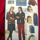 Butterick Pattern # 5755 UNCUT Misses/Misses Petite Shirt Vest Skirt Pants Size 12 14 16