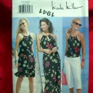 Butterick Pattern # 6636 UNCUT Misses /Misses Petite Top Dress Skirt Pants Size 12 14 16