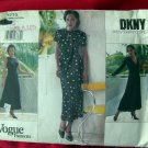 VOGUE Pattern # 1773 UNCUT DKNY Misses' Dress Size 8 10 12