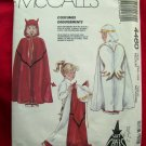 McCalls Pattern #4460 UNCUT Costume Cape Size MEDIUM Devil/Angel or Frog/Prince
