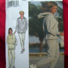 STYLE Pattern #2341 UNCUT Misses Exercise Top Pants Hoodie Size 8 10 12 14 16 18