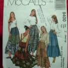 McCall's Sewing Pattern # 9400 UNCUT Misses Three Four Tiered Skirt Size Medium Large