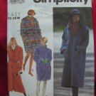 Simplicity Pattern # 7457 UNCUT Misses Jacket or Coat Sizes Small Medium Large XL