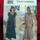 Butterick Pattern #6058 UNCUT Misses Summer Dress Size 8 10 12