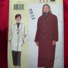 Vogue Today's FIT Pattern #7143 UNCUT Misses COAT Long Short Size SX S M