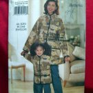 Butterick Pattern #4642 UNCUT Misses /Child Matching Jacket Pants Size S M L