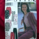 Style Pattern #2989 UNCUT Misses Tunic Dress Top  Pants Size 8 10 12 14 16 18