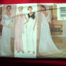 Butterick Pattern # 5303 UNCUT Misses Bridal or Evening Length Dress & Scarf Size 12 14 16