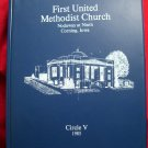 Corning Iowa Methodist Church Cookbook 1985 First United Circle V