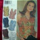 Style Pattern #2654 UNCUT Misses Vest Size 8 10 12 14 16 18