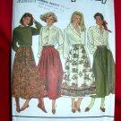 Simplicity Pattern # 9876 UNCUT Misses Skirt Size 10 12 14 16 18