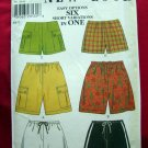 Simplicity New Look Pattern # 6870 UNCUT Misses Six SHORTS Designs Size 6 8 10 12 14 16
