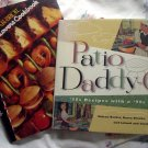Lot BBQ Cookbook ~ Patio Daddy-O & Char-Broil Grill Lovers Cookbook
